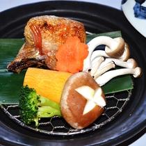 4月~7月*高級魚のど黒の蒸篭蒸しと季節野菜<のど黒と活鮑会席>