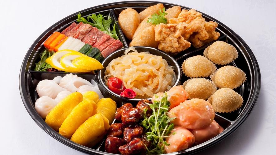 【中国料理 美麗華】美麗華の味をテイクアウトで楽しめるオードブル(イメージ)