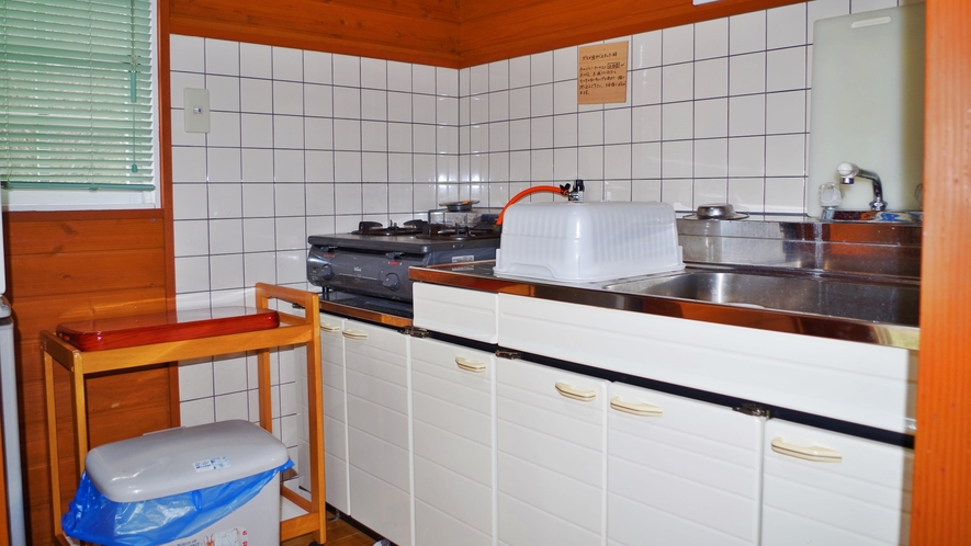 *バンガロー キッチン