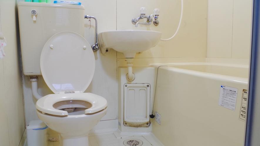 *バンガロー トイレ