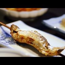【川魚の塩焼】