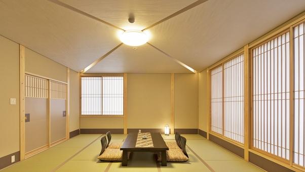 【禁煙】和室15畳トイレ付(全室2階、はぎ公園側)