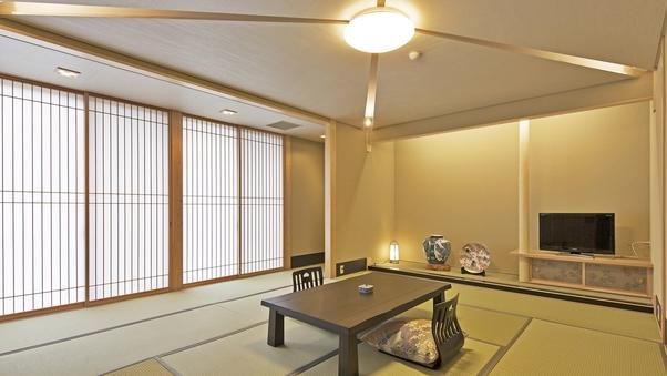 【禁煙】和室10畳トイレ付(全室1階、はぎ公園側)