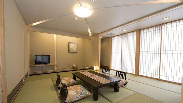 【禁煙】和室10畳+4畳バストイレ付(全室1階、はぎ公園側)