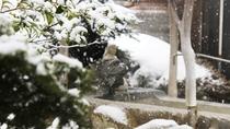 *【露天風呂】露天風呂(雪景色)