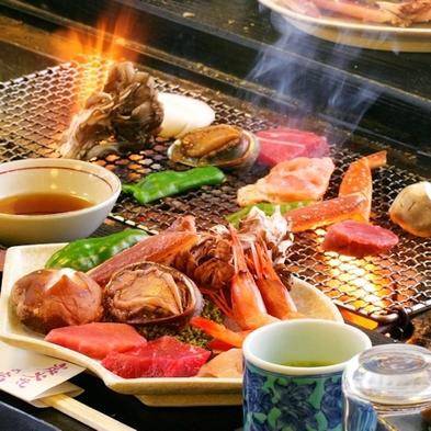 【旬の食材を囲炉裏で楽しむ】炭火焼夕食プラン