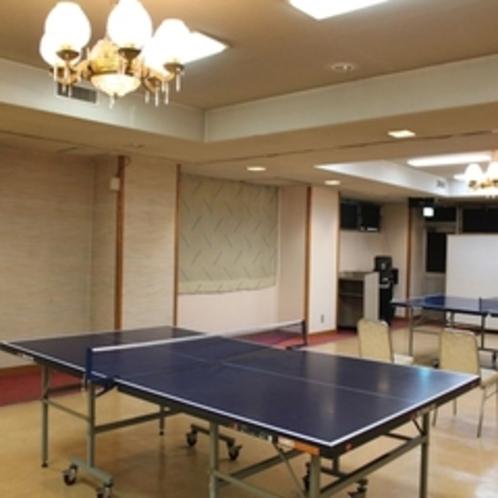 卓球場【東館2F】営業時間 20:00~24:00