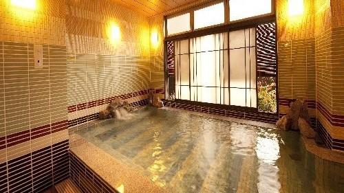 【男性】大浴場【内湯】(湯温:40〜41℃)