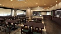 【Hatago】2F・レストラン 営業時間 06:30~09:00 (最終入店 08:45)