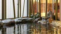【女性】大浴場【岩風呂】(湯温:41~42℃)