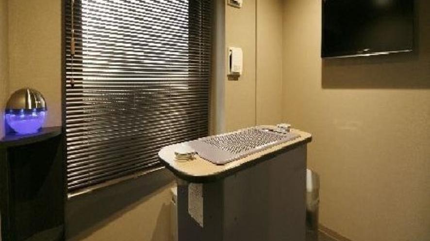 ◆喫煙ブース 5、13階フロアに設置
