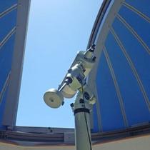 """2階に本格的な自動で動く""""天体観測ドーム""""があります!"""