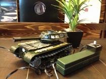 ブリキの戦車
