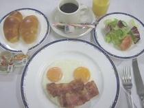 洋定食(朝食)