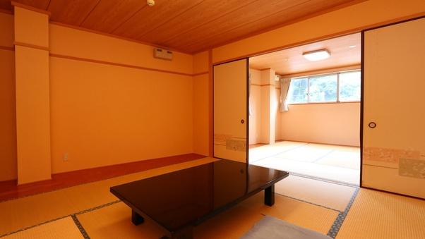 二間続きの和室★Wi-Fi有トイレ洗面付