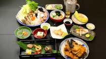 和歌山自慢高級魚のクエのフルコースです