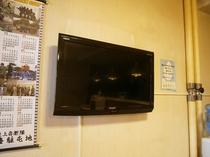 食堂・テレビ