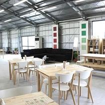 *【あおぞらカフェ】新鮮野菜と豊かな環境を堪能するカフェ。