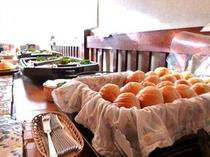 朝食バイキング例1