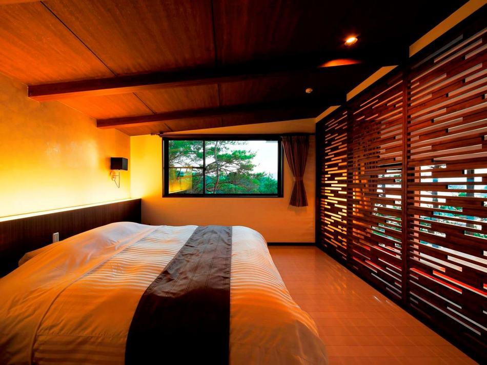 パノラマビューヴィラ寝室