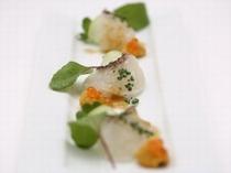 天草地魚の前菜
