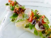 天草地魚のカルパッチョ