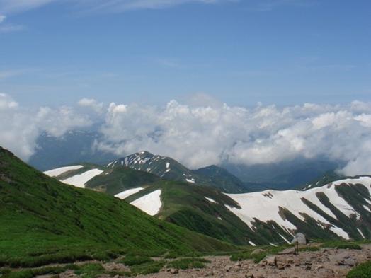 月山登山に最適・・・「月山登山プラン」リフト往復券・おにぎり付