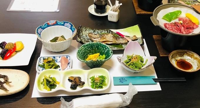 ゆっくりと和室でくつろぎ、季節の月山の山菜・郷土料理を・・・【和室プラン】