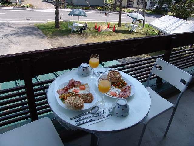 自分で作る朝食