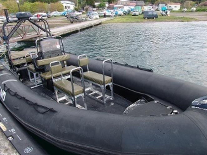 ゴムボート1