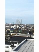 ツインルーム(角部屋)から見える銚子大橋