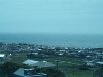 地球の丸く見える丘展望台からの景色(南)