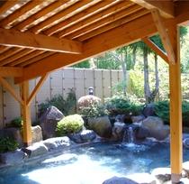 八峯苑露天風呂