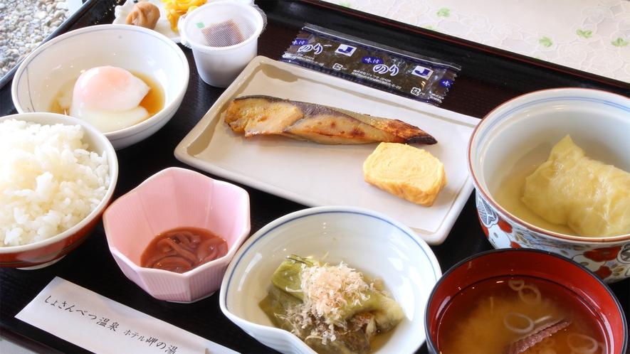 *朝食一例/体にやさしい和朝食をご用意いたします。