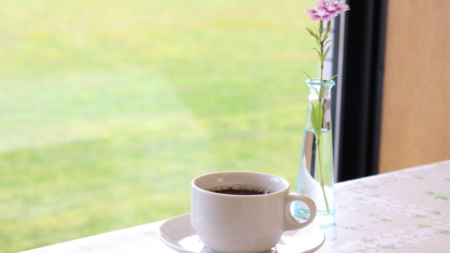 *コーヒーでほっとひと息♪ビジネスにも観光にも、お気軽にご利用ください。