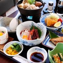 *ビジネスプラン夕食一例/手頃に楽しみたい方にお勧め!海の幸を中心にボリュームたっぷりです♪