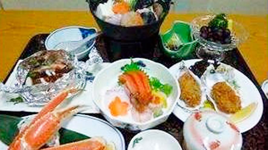 *冬のよくばり御膳/メインのあんこう鍋と日本海の冬の海の幸!お料理重視の方にイチオシのグルメプラン。