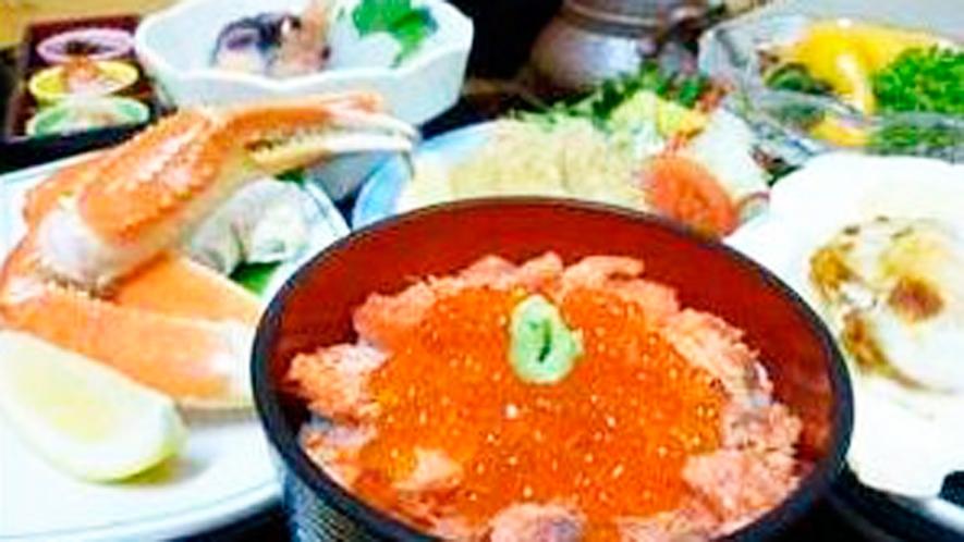 *よくばり御膳(季節限定)/松茸・ウニ・ズワイ蟹!豪華海の幸を堪能できるグルメプランです♪