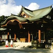 【西宮神社】全国の戎社の総本山で、商売繁盛の神様として信仰を集めています。当館より車で約20分☆