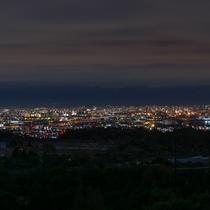 *大阪~神戸の美しい夜景をご覧いただけます