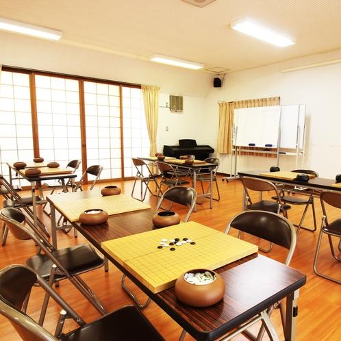囲碁教室でもご利用頂けます。