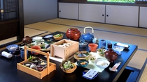 【朝食】山形の郷土料理やブランド米「つや姫」を炊き立てでご提供しております
