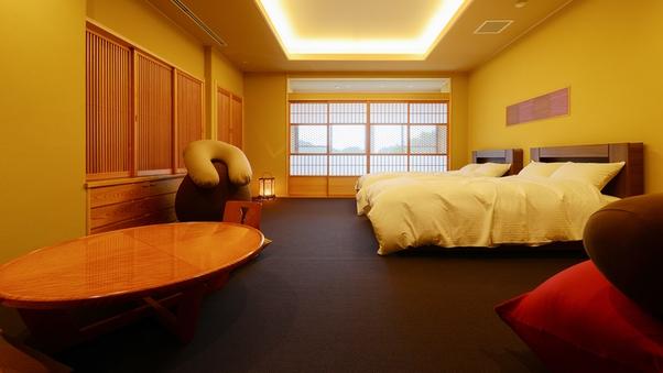 本館:【桔梗-kikyo-】和洋室53.6平米【禁煙】