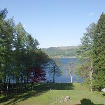 *【周辺】信州・青木湖/桟橋からの蛍クルーズやカヌーがおすすめ。