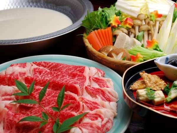 【料理】黒毛和牛のしゃぶしゃぶ