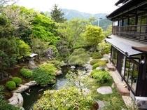美しい、芹生自慢の庭園