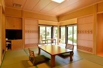 露天風呂付和室「楓の間」