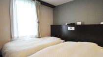 【ツイン】90cm幅ベッド2台
