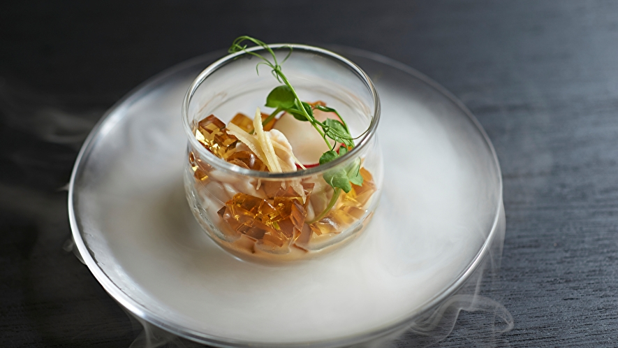 【Dinner】2020 Winter Menu 白子 柚子 醤油麹