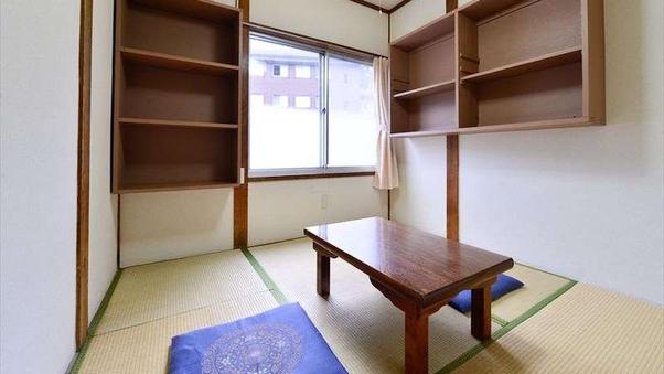 【自炊部】和室4.5畳(禁煙)<1名様>